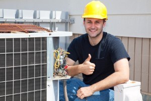 ac unit repair man